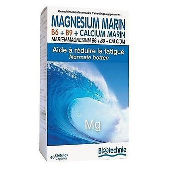 Biover Marine Magnesium+B6+B9 40 caps