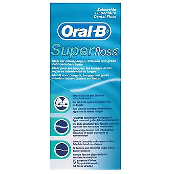 Oral B Silk Dental Superfloss