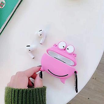 3D Creative Cute Cartoon -kotelo, yhteensopiva Airpods Pron kanssa (tyyppi A2)