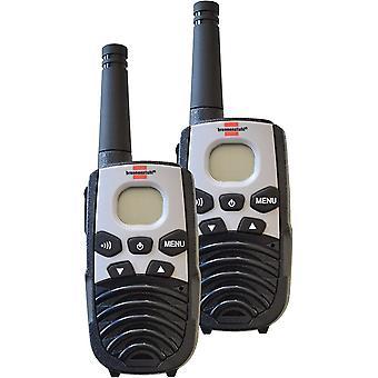 HanFei PMR Walkie Talkie TRX 3500 / Funkgerte Set mit 5km Reichweite (mit 2 Mobilgerten, 8 Kanlen und