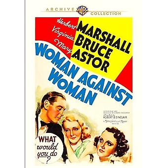 Woman Against Woman (1938) [DVD] Yhdysvallat tuonti