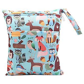 Bolsa de pañales de maternidad, pañales-pañales bolsa de cochecito impermeable