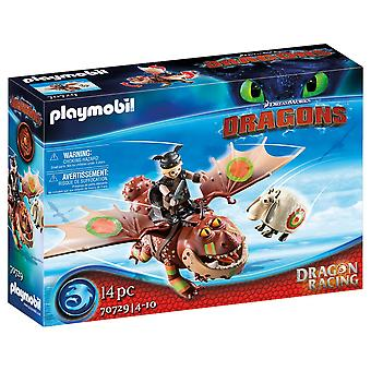 Playmobil Dragon Racing Fishlegs och Meatlug Lekset