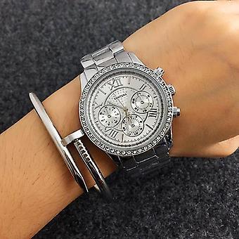 Crystal Diamond  Luxury Full Steel Wristwatch