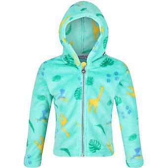 Regatta Pojkar & Flickor Jollie Full Zip Hooded Fleece Jacka