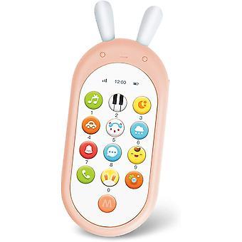 FengChun Baby Handy und Lernspielzeug mit Smart Phone Lernen Liedern Lichtern Blinkenden Sound