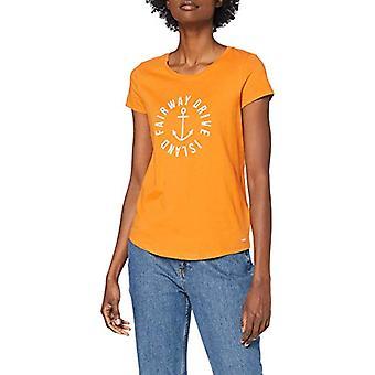 TOM TAILOR Denim Basic Nautic, 25463-Yellow Orange, XL Woman