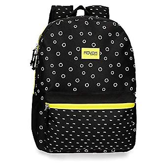 Movom Bubbles Backpack 42 centimeters 21.5 Black(2)