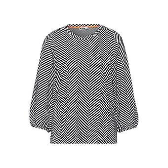 Street One 315819 T-Shirt, Dark Shaded Grey, 36 Woman
