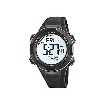 Calypso Watches Men's Quartz Digital Watch with Plastic Strap K5780/6