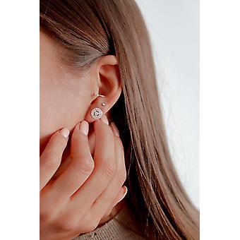 Gorge Chakra / Visuddha Boucles d'oreilles - Argent - Bijoux cadeaux pour femmes de Lu Bella