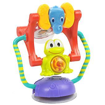צעצועי רעשן לתינוק, צעצועי חינוך מוקדמים לתינוק גלגל ענק מסתובב