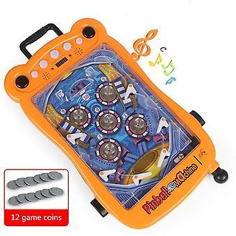 Kinder flipperkasten Desktop Educatief Speelgoed Machine Battle Coin Toys| Strategie Spellen