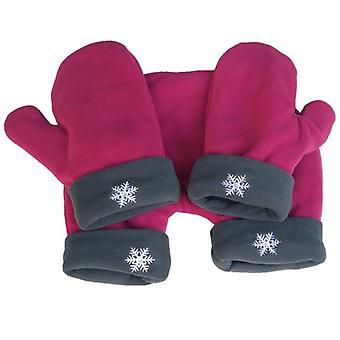 Femei Bărbați Iarna Îngroșarea mănușilor calde