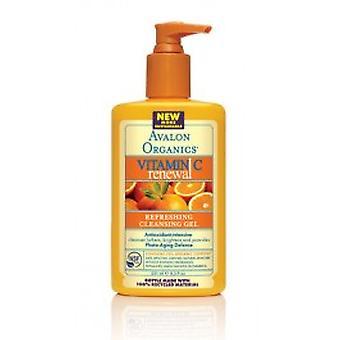 Avalon Organics - Vitamin C Refreshing Renewal Facial Cleanser Gel 250ml