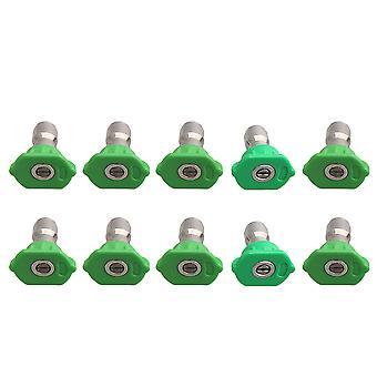 10pcs Acier inoxydable 25 degrés Spray Nozzle Tip 1.0 1.2 1.4 1.6 2.0mm