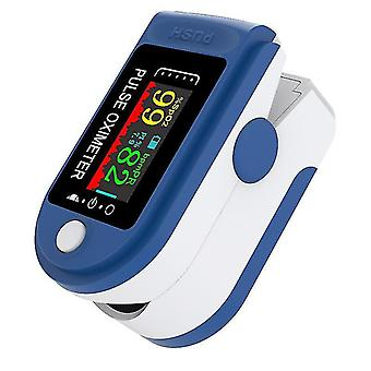 Tft نبض الشاشة oximeter الدم الأكسجين تشبع معدل ضربات القلب spo2 رصد مع lanyard az7290