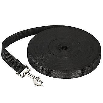 30M * 2cm negro 50m correa de perro mascota, correa de seguimiento al aire libre para perros grandes az372