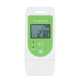 For KData Logger Multi-use USB Temperature Datalogger Reusable TEMP Recorder with 32,000 Record Capacity WS36898