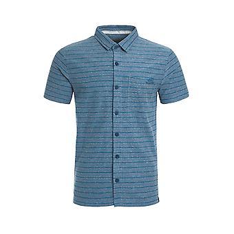 Cooper Jacquard Jersey Camisa Gasolina Azul