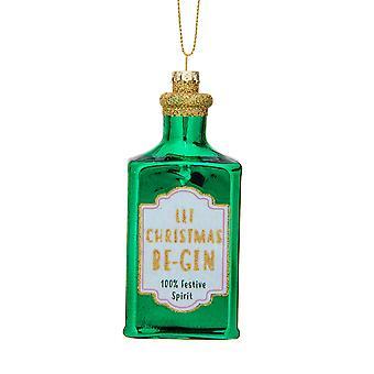 Sass & Belle Lad julen Be-Gin Formet Bauble