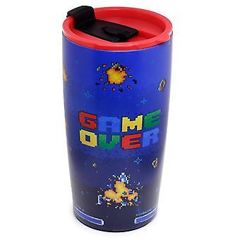 Game Over genanvendeligt rustfrit stål Hot &Cold Thermal Isoleret Food &Drink Cup 500ml