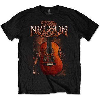Willie Nelson - Trigger Unisex Medium T-Shirt - Black