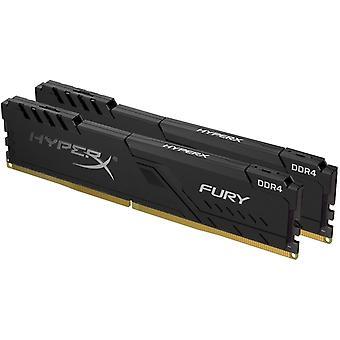 Kingston HyperX Fury 16 Go (2x8 Go) DDR4 PC4-28800C17 3600 MHz Double Canal Kit