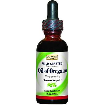 Only Natural Wild Crafted Oil of Oregano, 1 Oz