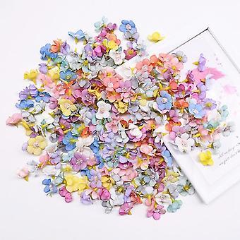 متعدد الألوان ديزي رؤساء الحرير مصغرة الزهور الاصطناعية