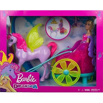 Barbie GJK53 Dreamtopia Prinsesse, Pegasus &Chariot