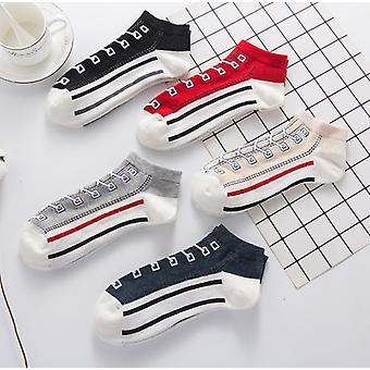 5x Unisex Short Socks