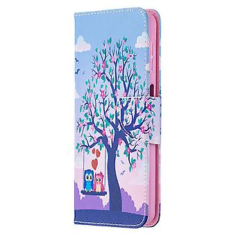 Samsung Galaxy A32 4g Case Pattern Magnetic Protective Cover Owl
