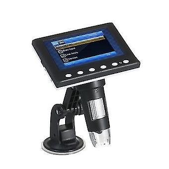 Digital Microscope 4.3-inch 1000X Magnification LCD Microscope Portable Microscope Video Camera