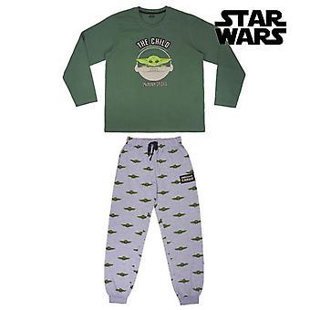 Pyjama The Mandalorian Men Green