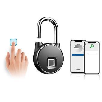 Smart bluetooth fingerprint lock antivol ip66 imperméable à l'eau app control