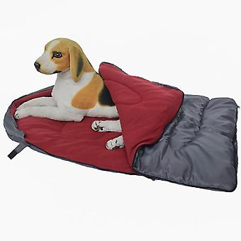 Mimigo Dog Sleeping Bag - Camping Dog Bed - Extra Durable Slightly Waterproof Cushion Bed -travel Outdoor Dog Bed For Camping, Hiking, Patio,cottage A
