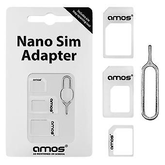 AMOS Nano Sim adattatore