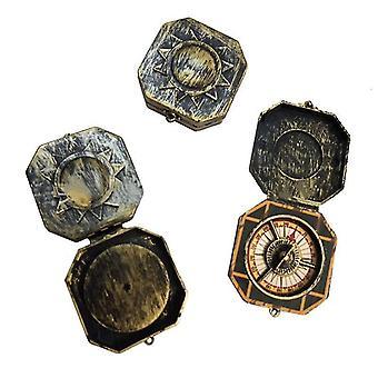 Navigationskompasse Vintage Hallowmas Party fancy Spielzeugkompass
