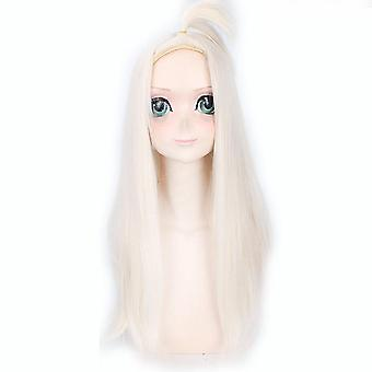 Fairy Tail Anime Wigs MirajaneStrauss Long Synthetic Hair Wigs