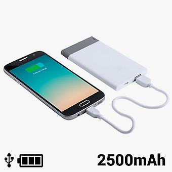 Power Bank with Removable USB 2500 mAh 8 GB 145242