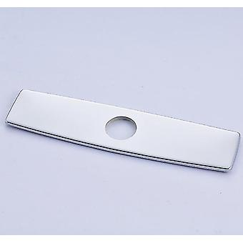 Faucets 10 inch chrome polished outer hole cover plate for kitchen sink