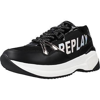 Replay Zapatillas Js240026s Color Black
