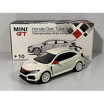 Honda Civic Type R FK8 Championship White Modulo 1:64 MiniGT MGT00010R