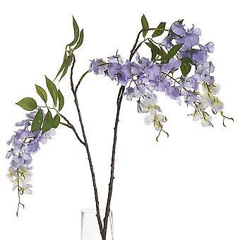 Fresh cut flowers artificial wisteria plant