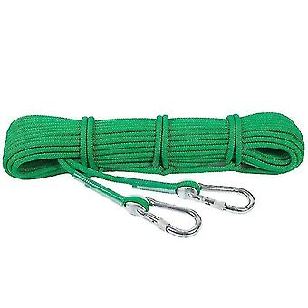 Climbing webbing outdoor climbing rock rope climbing cord webbing safety rope hiking accessories 10m gray