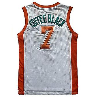 Flint Tropics Jackie Moon #33 Coffee Black #7 Semi Pro 90s Hip Hop Clothes For Party Men Basketball Jersey Green White