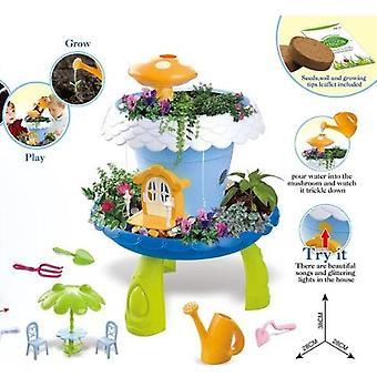 Fairy Garden Kits för flickor och pojkar barn trädgårdsset