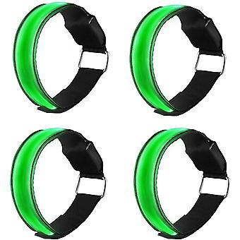 Bracelets réfléchissants de sécurité 4 Pcs