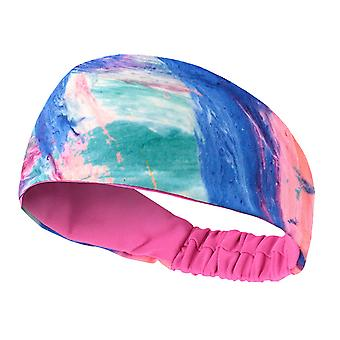 Yoga Fitness Hair Band Fast Dry Moisture Wicking Sweatband For Riding